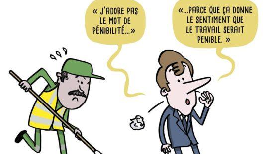 Macron pénibilité